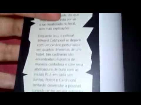 Review Livro- Os crimes do Monograma