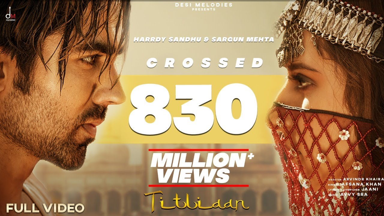 Titliyan lyrics by Harrdy Sandhu
