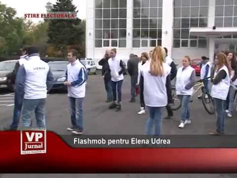 Flashmob pentru Elena Udrea