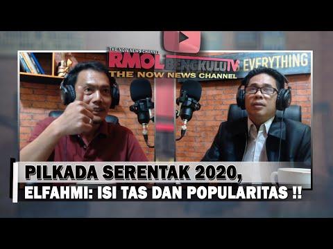 Pilkada Serentak 2020, Elfahmi: Isi Tas dan Popularitas