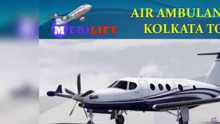 Take 24*7 Hours Emergency Air Ambulance Kolkata to Delhi by Medilift