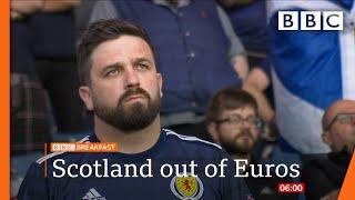 Scotland's Euro hopes ended by Croatia ⚽️ @BBC News live 🔴 BBC