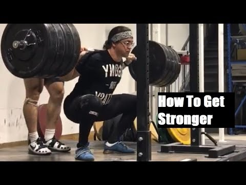 The EASIEST Way To Get Stronger (Free Program)