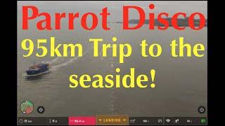 Parrot Disco Long Range, 4g Mod, 95km