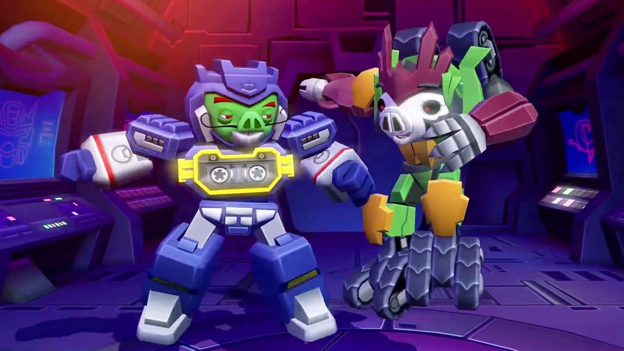 ANGRY BIRDS Transformers Gameplay Trailer #VideoJuegos #Consolas