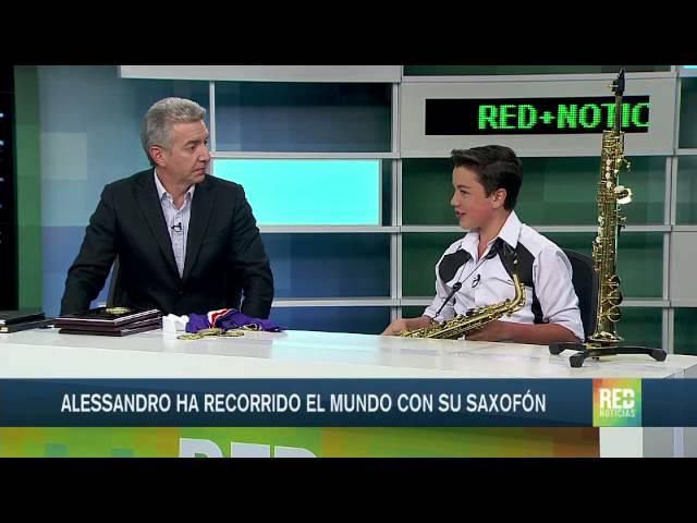 RED Noticias - Alessandro revela como su viaje de vacaciones se convirtió en una oportunidad de reconocimiento global