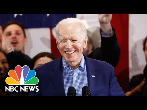 Watch Joe Biden's Full Speech After Nevada Caucuses | NBC Nightly News