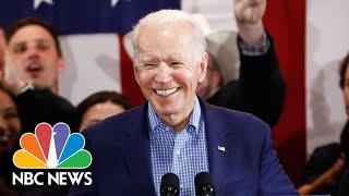 Watch Joe Biden's Full Speech After Nevada Caucuses   NBC Nightly News
