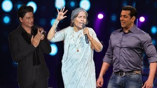 Shahrukh-Salman Gets surprised by Ranu Mondal's Voice after Watching Her Live Concert | Best Singer