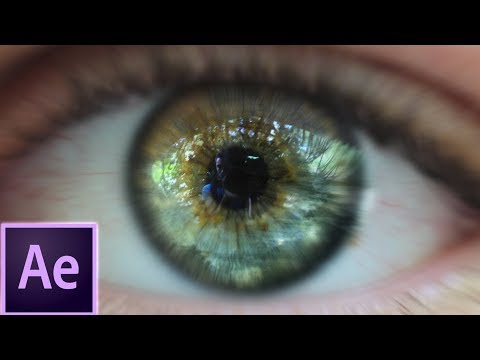 Adobe After Effects Tutorial: Eye Reflection Transition
