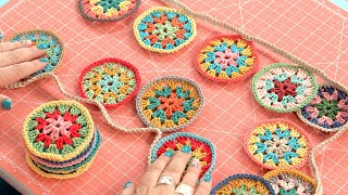 Crochet Bunting (Lori Holts Chunky Thread Tutorial Series)