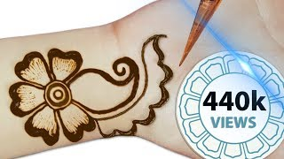 Very Easy Mehndi Designs For Front Hands - Simple Henna Designs - Indian Latest Mehndi Designs 2019