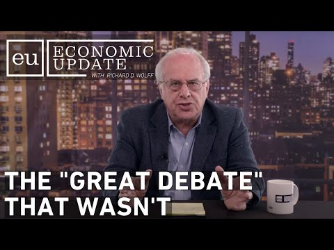 "Economic Update: The ""Great Debate"" That Wasn't"