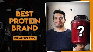 Which is the Best Whey Protein Brand? | FitMuscle TV