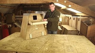 How To Build A Barn Owl Nestbox For A Tree
