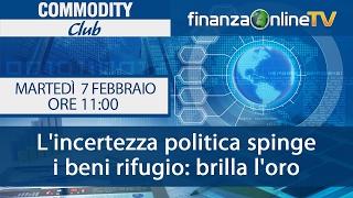 Commodity Club - Martedì 7 febbraio