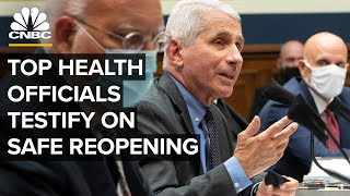 Top health officials testify on safe reopening amid Covid-19 pandemic — 6/30/2020