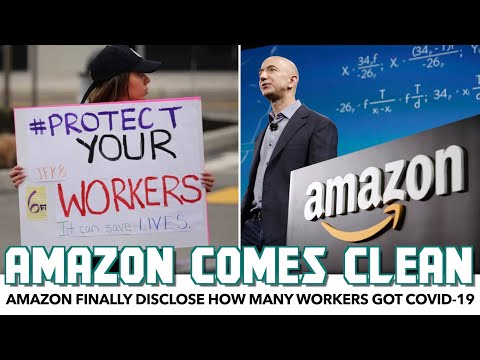 Amazon Finally Reveals How Many Workers Got COVID-19