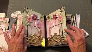 Mini-Album Featuring Heartfelt Creations Wild Roses Collection