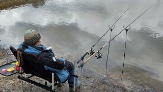 Рыбалка весной ранней