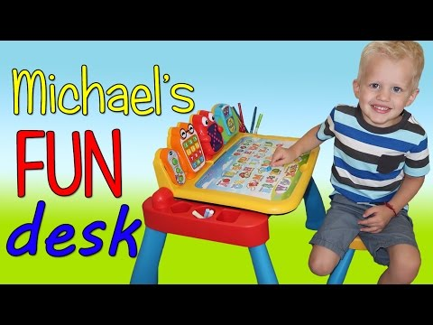 Michael's VTech Touch & Learn Activity Desk Deluxe Playtime Review