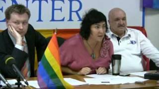 Лолита Милявская матерится в защиту геев