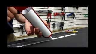 How To Use a Drip-Free Caulk Gun
