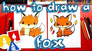 How To Draw A Cute Fox