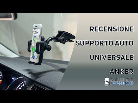 Anker supporto auto universale Recensione