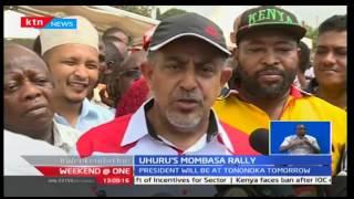 President Uhuru's  Mombasa rally hyped by aspiring Mombasa governor Suleiman Shahbal