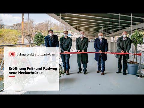 Eröffnung Fuß- und Radweg | Neue Neckarbrücke