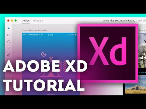Adobe XD for Beginners (Ultimate Guide to Adobe XD Tutorials)
