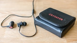 Aiwa Prodigy-1 in-ear headphone - premium sound at a low cost?