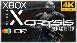 [4K/HDR] Crysis Remastered / Xbox Series X Gameplay