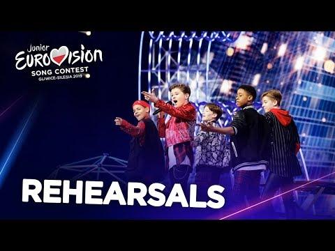 Junior Eurovision 2019 - Top 19 (Rehearsals)