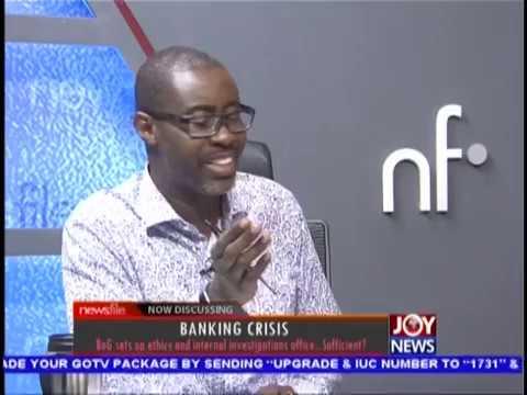 Banking Crisis-Capital - Newsfile on JoyNews (25-8-18)