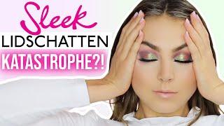 FULL FACE only using SLEEK Make Up deutsch Schicki Micki