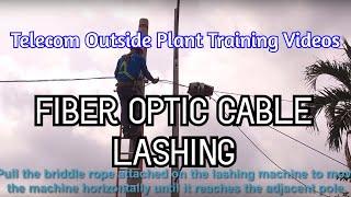 Fiber Optic Cable Lashing