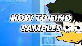 How to find samples online [sampling tutorial]