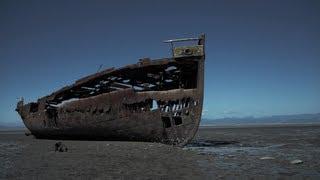preview picture of video 'Urban Exploration - Janie Seddon Shipwreck (Motueka, New Zealand)'