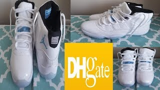... ireland dhgate air jordan retro 11 legend blue sneaker unboxing 5a6bc  c3952 3b66c3dea