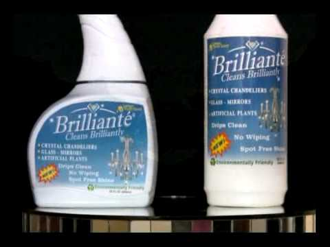 Brilliante Cleaner for crystals