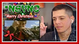 nsync reaction merry christmas happy holidays live