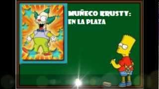 preview picture of video 'LAS CARTAS DE LOS SIMPSON HIT & RUN CON SU UBICACION , NIVEL 7'