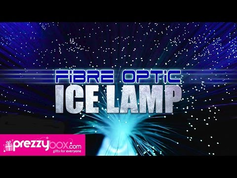 Fibre Optic Ice Lamp