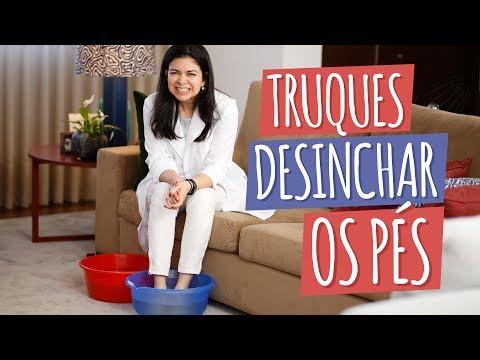 Imagem ilustrativa do vídeo: Tratamento caseiro para PÉS INCHADOS
