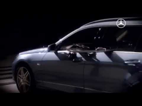 Mercedes Builds 400m Slot Car Track Through E-Class Wagon