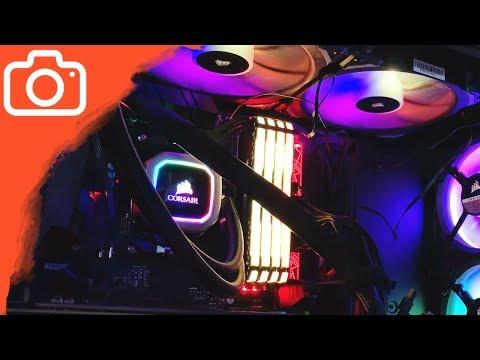 UNBOXING & SETUP CHLADIČE! - Corsair H115i RGB PLATINUM
