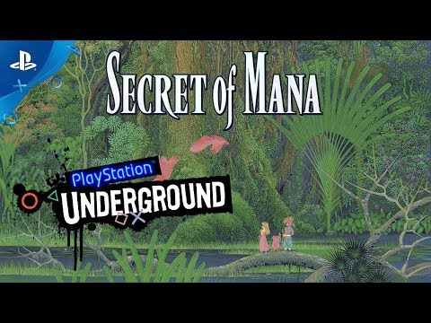Secret of Mana PS4 Gameplay | PlayStation Underground de Secret of Mana