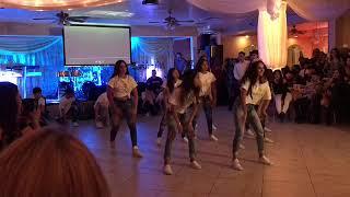 Mariana's quinceñera surprise dance 😯💝